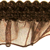 9233 546 - 15mm Organza ribbon frilled on 25m cards