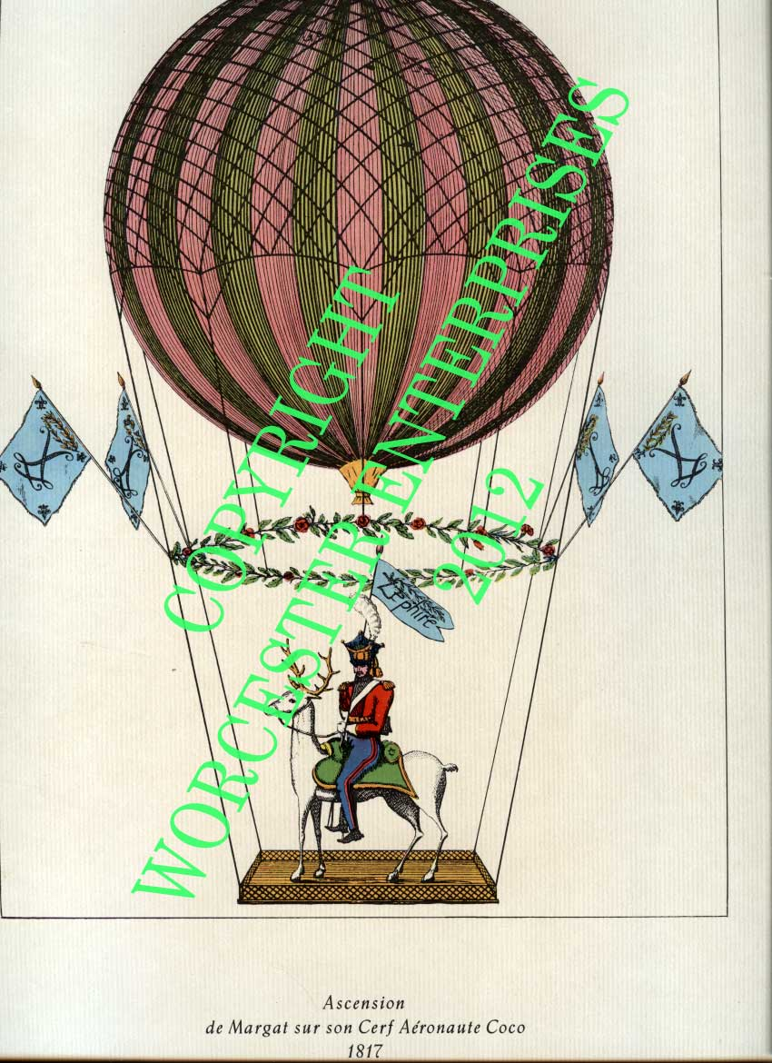 Ascension de Margat sur son Cerf Aeronaute Coco 1817