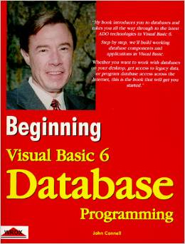 Beginning Visual Basic 6 database programming