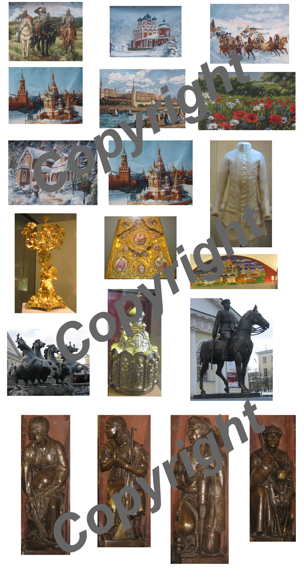 19 Moscow Greeting Card Pack