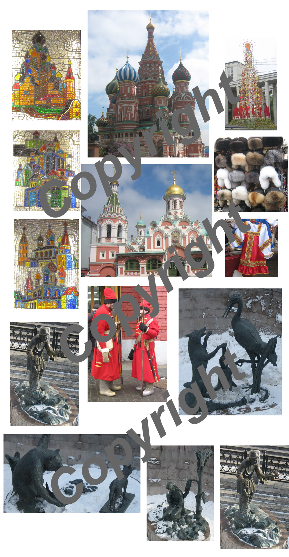 14 Moscow Greeting Card Pack