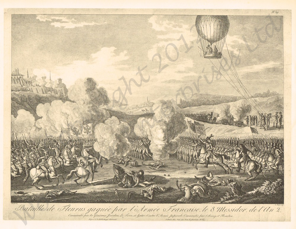 The Beginnings of Aerial Reconnaissance: 1783