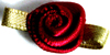 004 275 - Small ribbon roses bag of 100