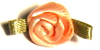 004 714 - Small ribbon roses bag of 100