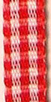 9243 5 582 - Gingham ribbon 5mm on 50m rolls