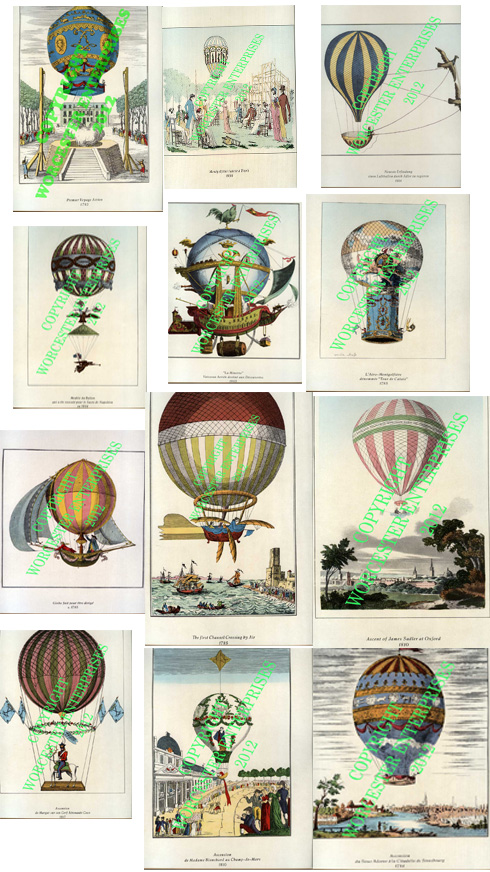 12 Balloon-Poster Greeting Card Packs